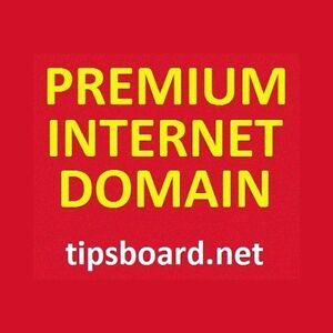 Premium 9 Letter Internet Domain Name - tipsboard.net