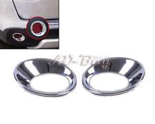 Chrome Rear Fog Lights Lamp Cover Molding  Trim for Nissan Qashqai 2007-2012