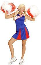 (tg. Donne 36-38) WIDMANN 03081 - Costume da Cheerleader Versione Blu/rosso I