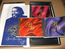 Barry White - Just for You (1993) 3 cd + Thick Booklet Box Set