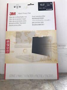 "1x 3M Privacy Filter for Edge-to-Edge 13.3"" Widescreen Laptop PF133W9E"