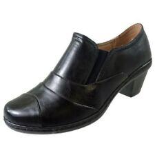 Zapatos de tacón de mujer sin marca color principal negro de piel