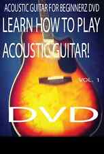 Acoustic Guitar  Lesson Z DVD For Beginners!!+5 Guitar Picks