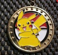 Nintendo Pokemon THICC medal Pikachu Children's Reward Rare Japan Exclus heavy