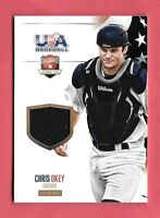 2014 Chris Okey Panini USA Baseball Rookie Jersey /99 - Cincinnati Reds