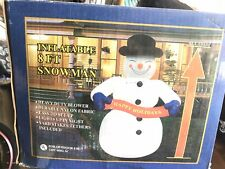 8 Foot Inflatable Snowman Christmas Decorations