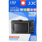 JJC LCP-G1XM2 polycarbonate LCD Film Screen Protector For Canon G1XII   G1X II