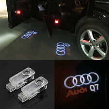 For AUDI Q7 2006-2014 LED Logo Ghost Shadow Projector Courtesy Door Light