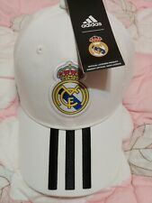 BNWT Adidas Real Madrid C.F. 2018/2019 Club 3-Stripe Adjustable Hat/Cap OSFM