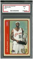 2004-05 Fleer Tradition #210 LEBRON JAMES ~ BSG 9