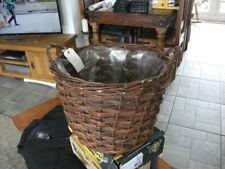 Wicker Basket ~ Log Basket / Display Stand / Farmers Market / Plants / 101 uses!