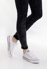 Converse Chucks All Star Ox Optical WEISS / UNISEX Sneaker Schuhe / Klassiker