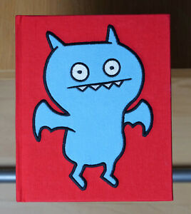 Uglydoll Chilly Chilly Ice Bat Cloth Covered Book - Rare - NEW
