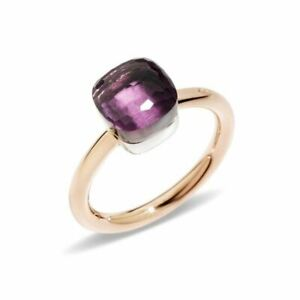 Pomellato - Nudo Petit - Ring with Amethyst, 18k Rose and White Gold