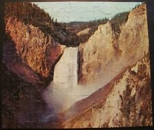 Vintage Whitman Deluxe Guild 500 pc. puzzle #4615-217 ''Yellowstone'' COMPLETE