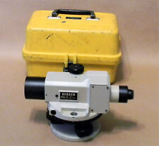 Vintage BERGER Model # BAL-1 Survey Transit Level In Case Excellent Condition