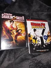 Shaolin Soccer + Kungfu Hustle Dvd Stephen Chow Versions Lot 2