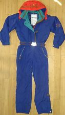 NICE Women's OBERMEYER Ski Snow 1pc Coat Pants Hooded Snowsuit 8 Insulated