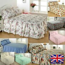 DIANA COWPE Luxury Traditional Quilted Bedspread Set - All Sizes & Colours