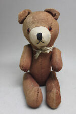 Antique Vintage 9 1/2'' TEDDY BEAR with Articulated Limbs & Internal Growler