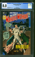 Wonder Woman 193 CGC 8.0 Mike Sekowsky Classic Cover 1971