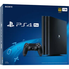 NEW Sony PlayStation PS4 Pro Gaming Console 1TB 4K HDR HDMI Jet Black
