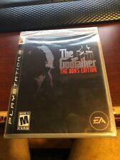 BRAND NEW The Godfather -- The Don's Edition (PlayStation 3 PS3 FACTORY SEALED