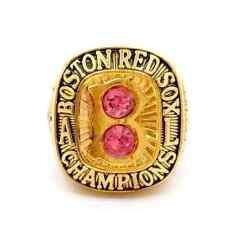 MLB 1967 Boston Red Sox championship rings