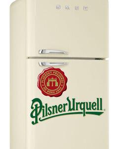 Pilsner Urquell Pils lager Beer lager Colour logo Wrap Fridge Freezer Sticker
