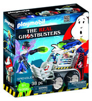 PLAYMOBIL Ghostbuster Spengler with Cage Car Building Set 9386