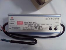 mean well LED power supply HLG-80H-54A