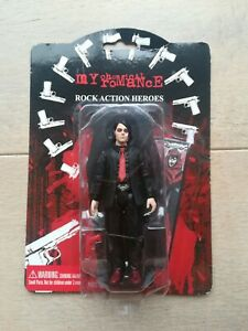 My Chemical Romance Gerard Way rock Action Figure SEG 2005 rare collectable