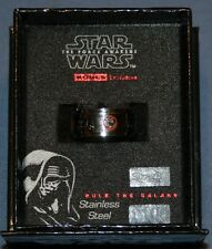 Star Wars The Force Awakens Mens Spinner Ring Sz 10 Stainless Steel New