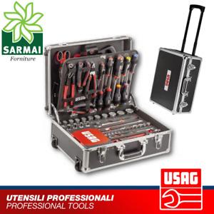 USAG 002 JTMA trolley set valigia porta utensili assortimento manutenzione 181pz