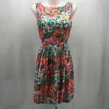 Talbots Pink Floral Dress 4P
