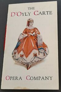 D`Oyly Carte Opera Co Flyer May 1935 Gilbert & Sullivan New Theatre Oxford