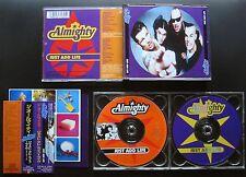 THE ALMIGHTY Just Add Life '96 JAPAN LTD 2CD OBI Ricky Warwick BLACK STAR RIDERS