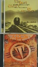 Wild T &Spirit-Giving Blood, Utah Phillips&Ani Difranco-Didn't Go Anywhere 2CD's