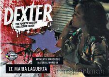 DEXTER SEASON 4 COSTUME D4CMLD LT. MARIA LAGUERTA