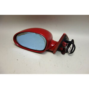 2001-2006 BMW E46 M3 M Left Driver Outside Side Mirror Imola Red 2 OEM