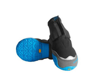 """Ruffwear Polar Trex Winter Dog Boots Pairs In Obsidian Black Sz 2.75""""/70MM. NEW"""