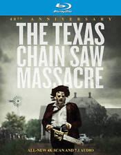 Sealed- The Texas Chainsaw Massacre 4K Blu-ray, 40 Anniversary- Free Shipping