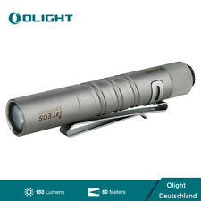 Olight I3T EOS 180Lumens Taschenlampe Kompakte Schlüsselanhänger Titanium LED