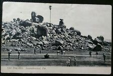 SECUNDERABAD ONE TREE HILL 1908 INDIA POSTCARD