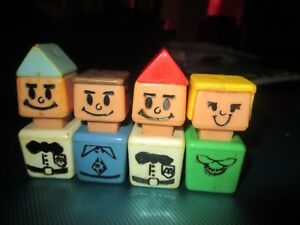 Vintage Playskool  McDonalds  Workers Figures