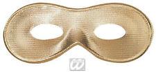 Gold Eye Mask Eyemask Masquerade Ball Venetian Fancy Dress