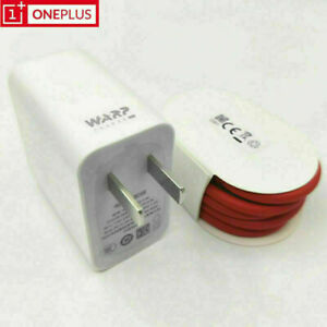 US For OnePlus 7 7T Pro Original 5V 6A 30W US Fast Charger + Type-C Cable Warp