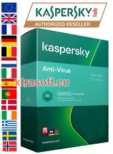 Kaspersky AntiVirus 2021 3 PC 1 Year (2022/2023 READY) EMAILED TODAY EU+UK