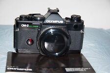 Olympus OM-2 Spot/Program Black 35mm SLR Film Camera Body Only