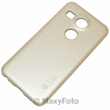 NILLKIN CUSTODIA ORIGINALE FROSTED HARD CASE +PELLICOLA PER LG NEXUS 5X GOLD ORO